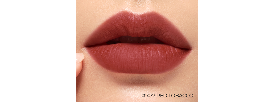 ROUGE HOLIC MATTE No. 477 RED TOBACCO